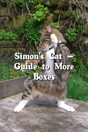 Diana Mills Tells About Simon's Cat – Guide to More Boxes   #cats  #cats  #catoftheday  #animals  #Adult  #Choose  #Cats  #Patterns