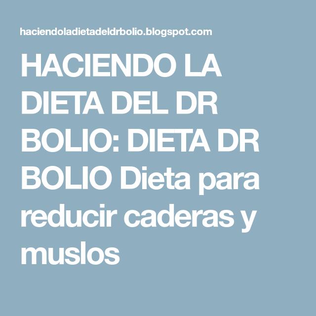 Pin En Dieta Dr Bolio