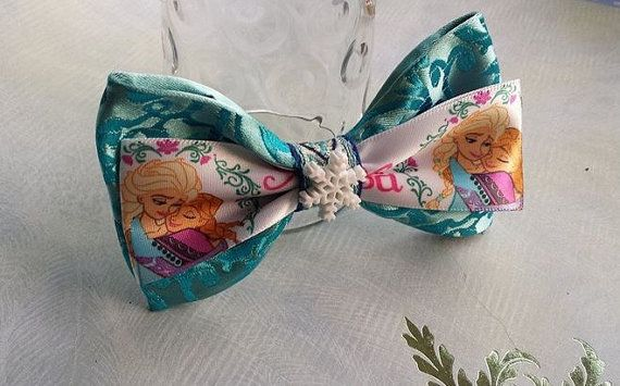 Hey, I found this really awesome Etsy listing at https://www.etsy.com/listing/204226031/classic-style-frozen-bow Frozen Bow. Elsa Anna olaf. Disney. Snow flake winter