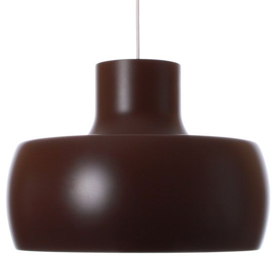 Ubo Light Large Brown Lamp By Bent Karlby Presumed Ask Etsy Brown Lamps Brown Pendants Hanging Lamp