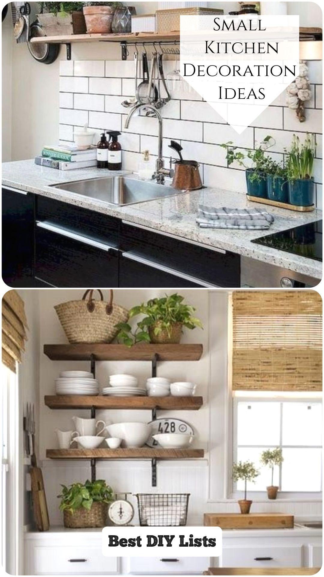 Home Decor Apartment 10 Clever Ideas For Small Kitchen Decoration Smallkitchendecor Home Decor Ap In 2020 Home Decor Kitchen Kitchen Remodel Small Small Kitchen Decor