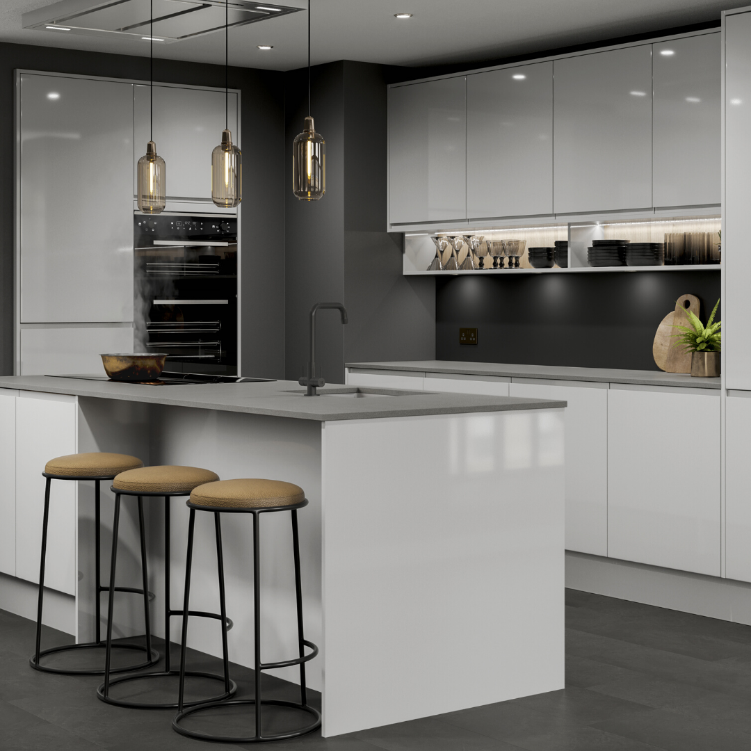 Create the perfect modern kitchen using our Clerkenwell