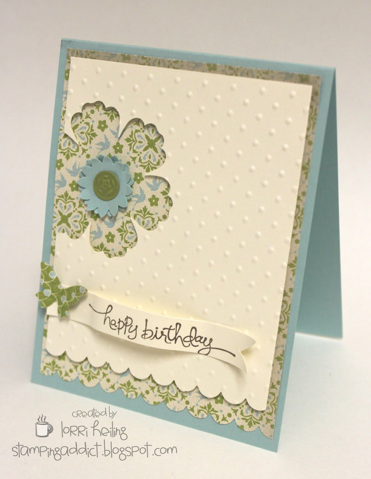 Everyday Enchantment DSP, Blossom, Boho Blossom, Bitty Butterfly & Scallop Edge border punches