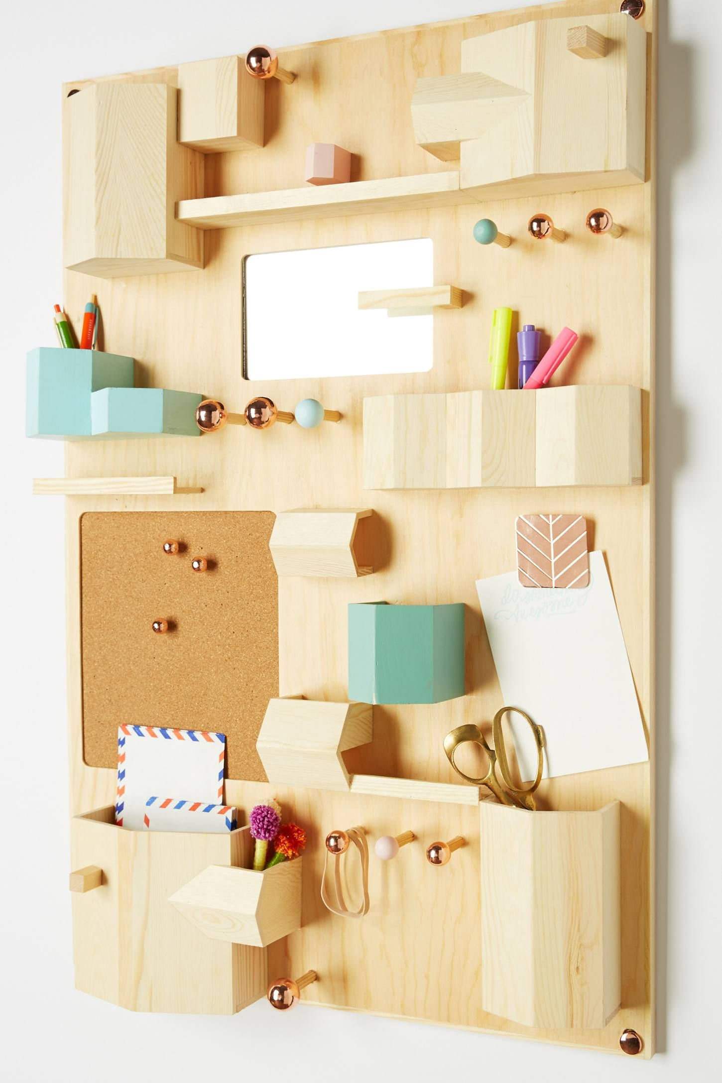 Hanging Desk Organizer | Your Anthropologie Favorites | Pinterest ...