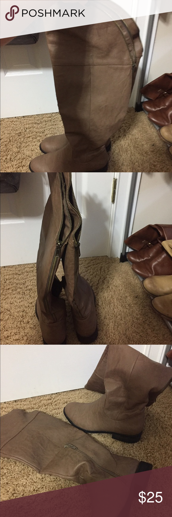Boots Excellent condition! Worn once Shoes Over the Knee Boots