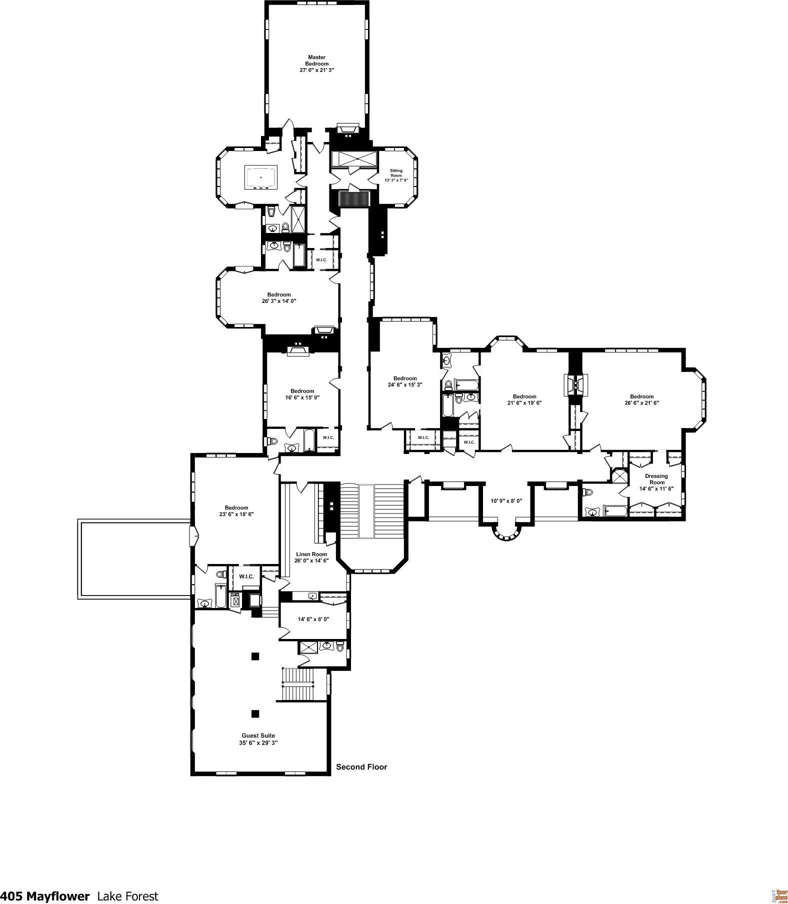 large north shore estate amazing floor plans by jfp pinterest