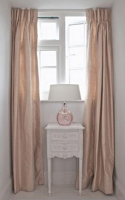 blush rose silk curtains i got butterflies when i saw. Black Bedroom Furniture Sets. Home Design Ideas