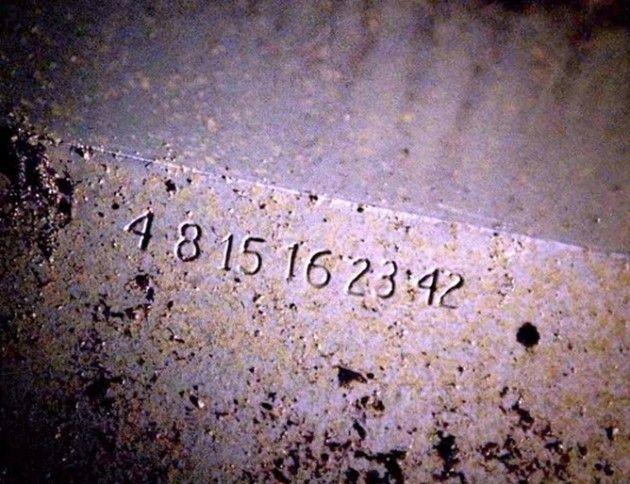 4 8 15 16 23 42 Lost Con Imagenes Sobrenaturales Series De