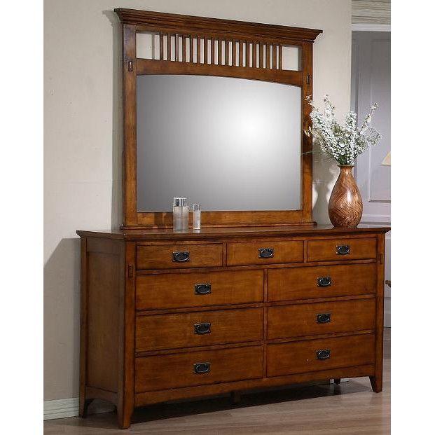 Elgin 9 Drawer Dresser With Mirror 9 Drawer Dresser Dresser With Mirror Furniture