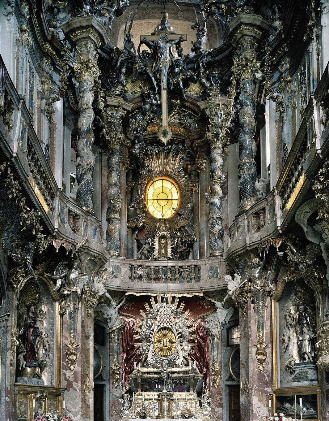 The Awe Inspiring Power Of Baroque Churches Architecture Tumblr Baroque Architecture Architecture
