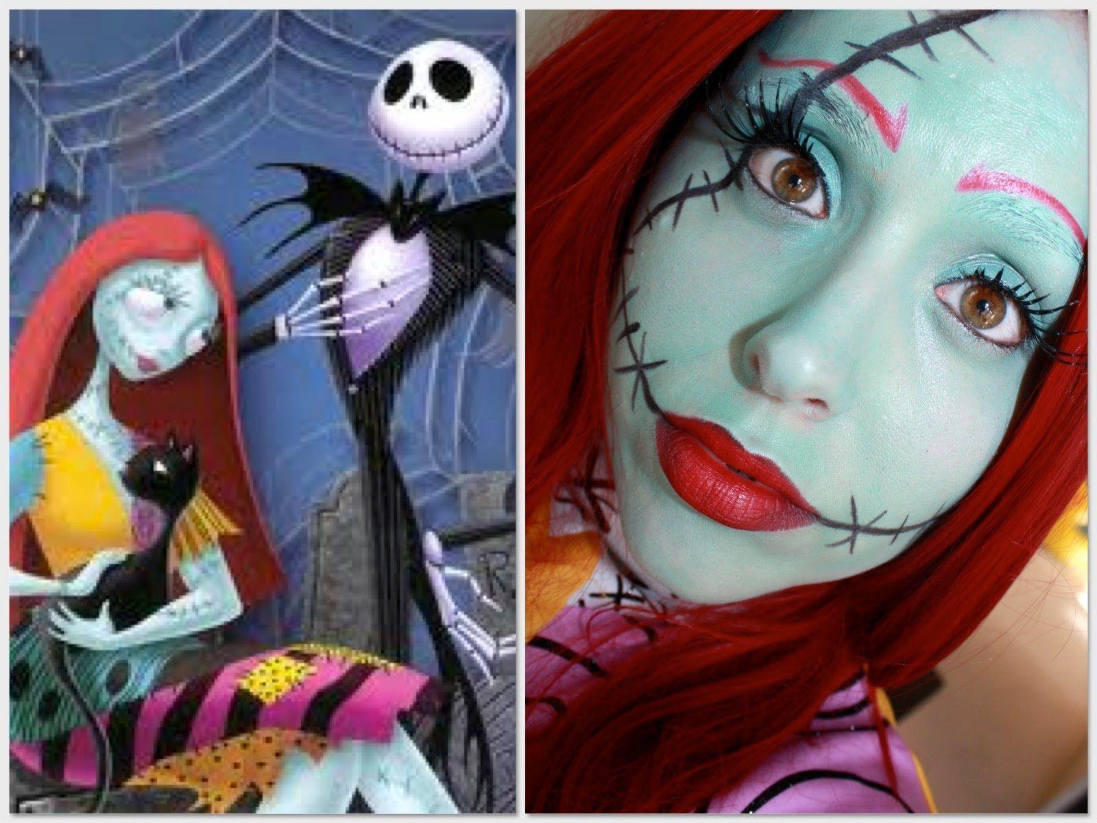 Sally make up tutorial | Dreams on Canvas | Pinterest | Sally ...