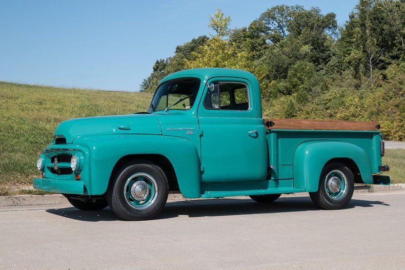 1955 International R100 1 2 ton pickup