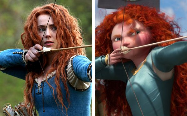 Amy Manson/Disney Merida 7-17-2016 | Once Upon A time in ...