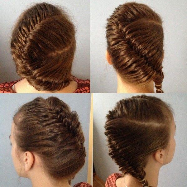 Fish Tail Braid. | Hair | Pinterest | Tail braids, Fish ...