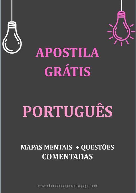 Portugues Portugues Para Concurso Estudos Para O Enem