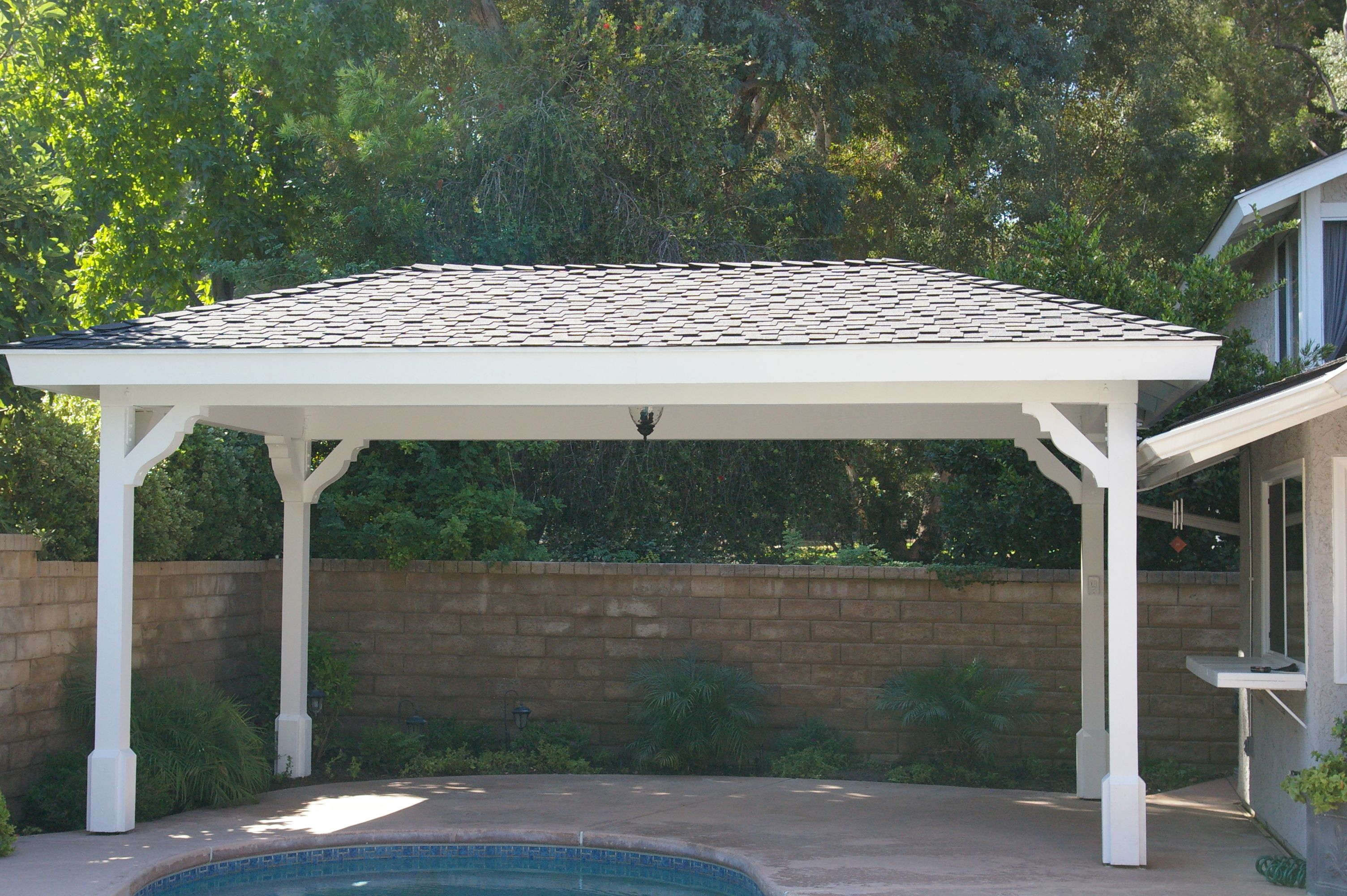 Free Standing Patio Cover Plans Unique Covered