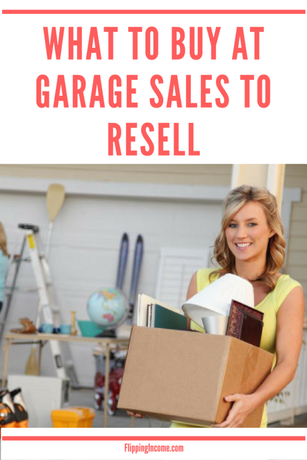What to Buy at Garage Sales to Resell #thriftstorefinds