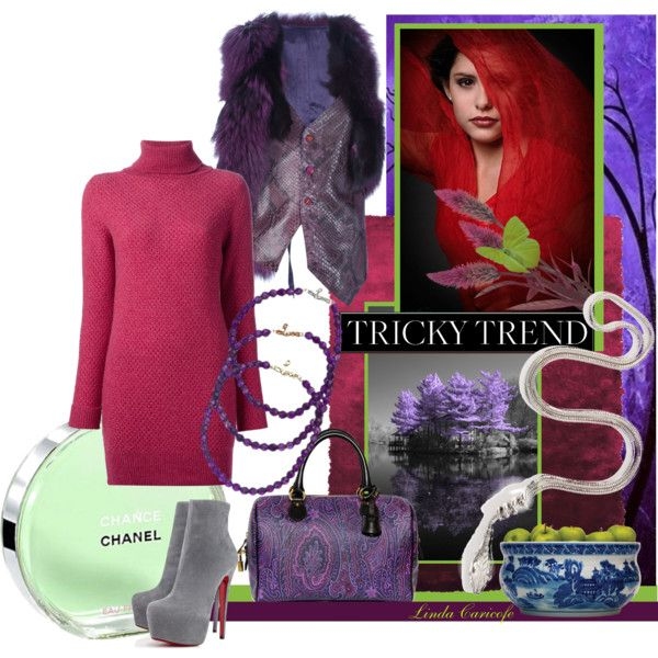 """Tricky Trend that fabulous If Six Was Nine vest"" by linda caricofe on Polyvore"