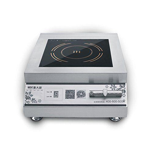 5000 Watt Countertop Commercial Induction Cooktop Burner Electric Magnetic Stove