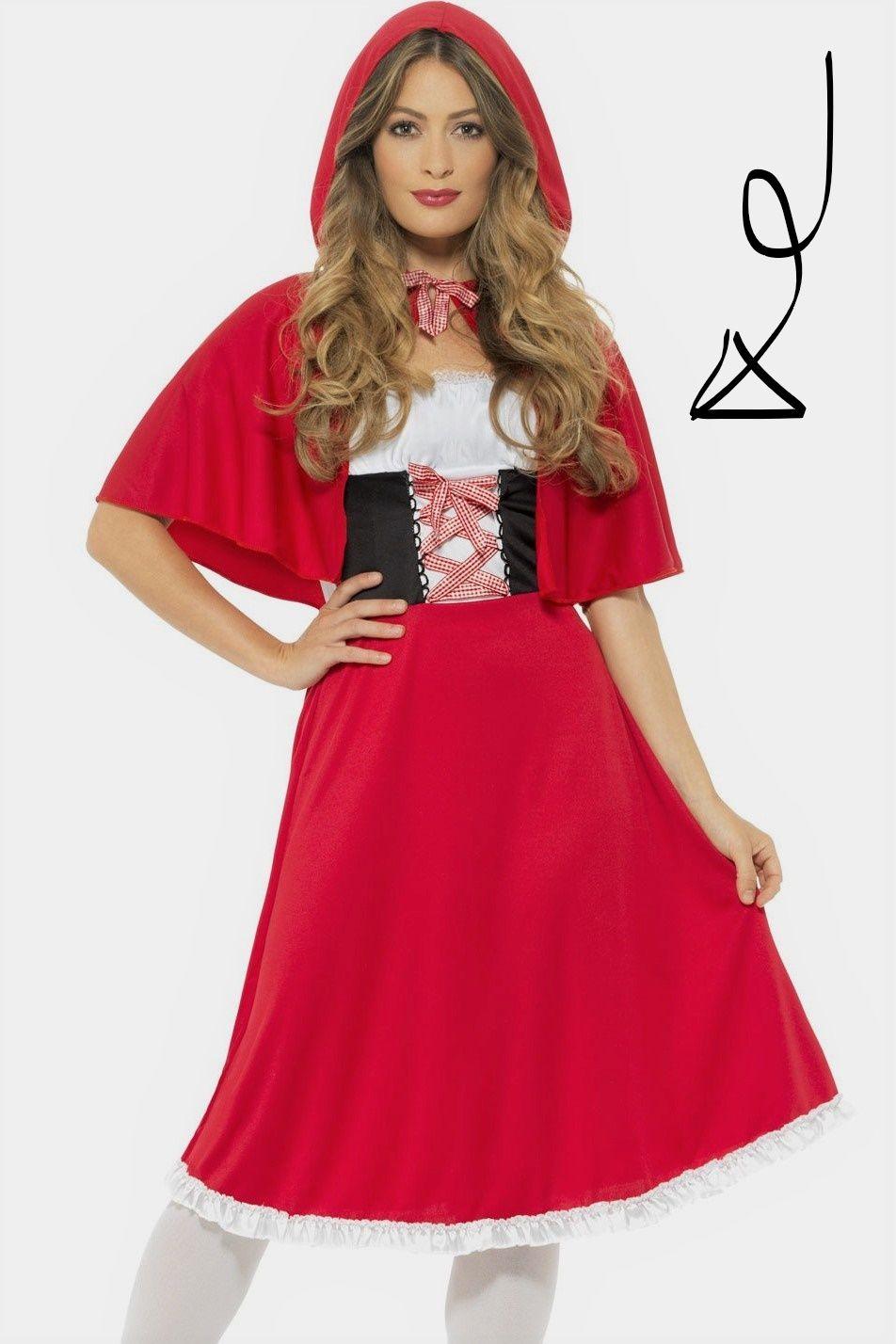 Traumhaftes Rotkappchen Kostum Fur Damen Rotkappchen