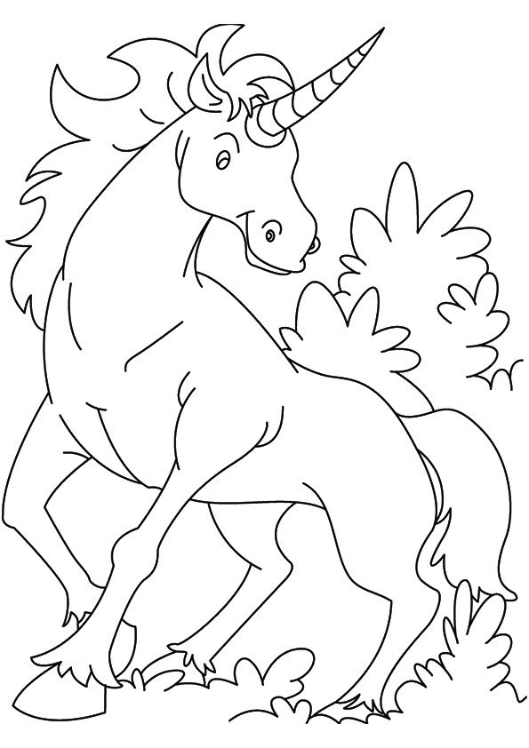 Print Coloring Image Momjunction Birthday Coloring Pages Unicorn Coloring Pages Coloring Pages