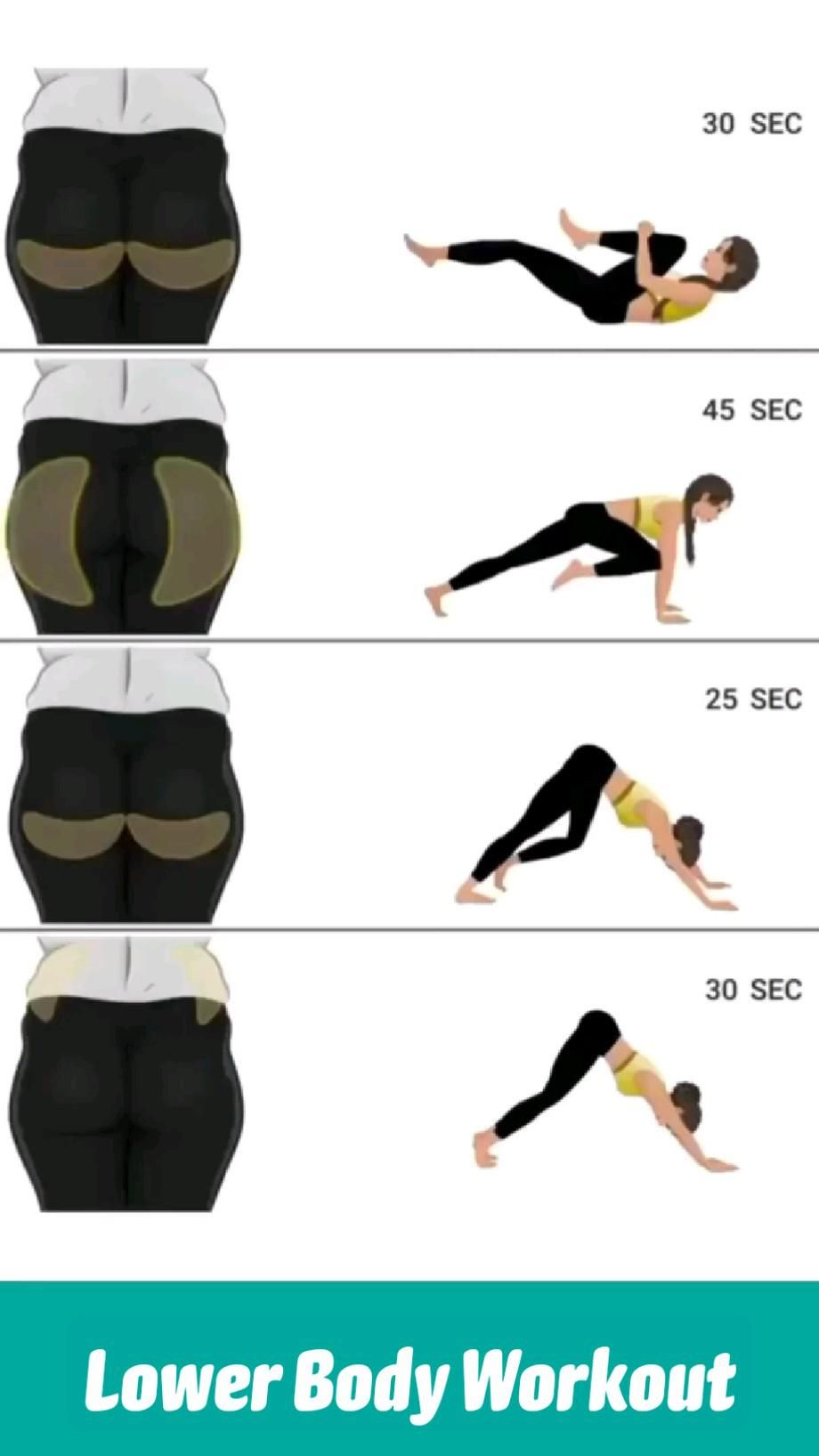 Lower Body Workout   workout video   at home workout   thigh exercises   butt workout