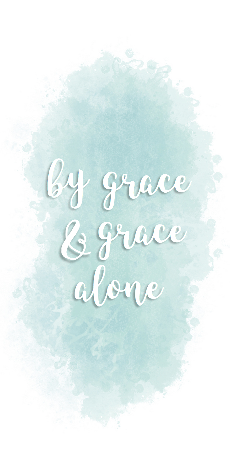 Grace Alone. Iphone wallpaper quotes bible, Wallpaper