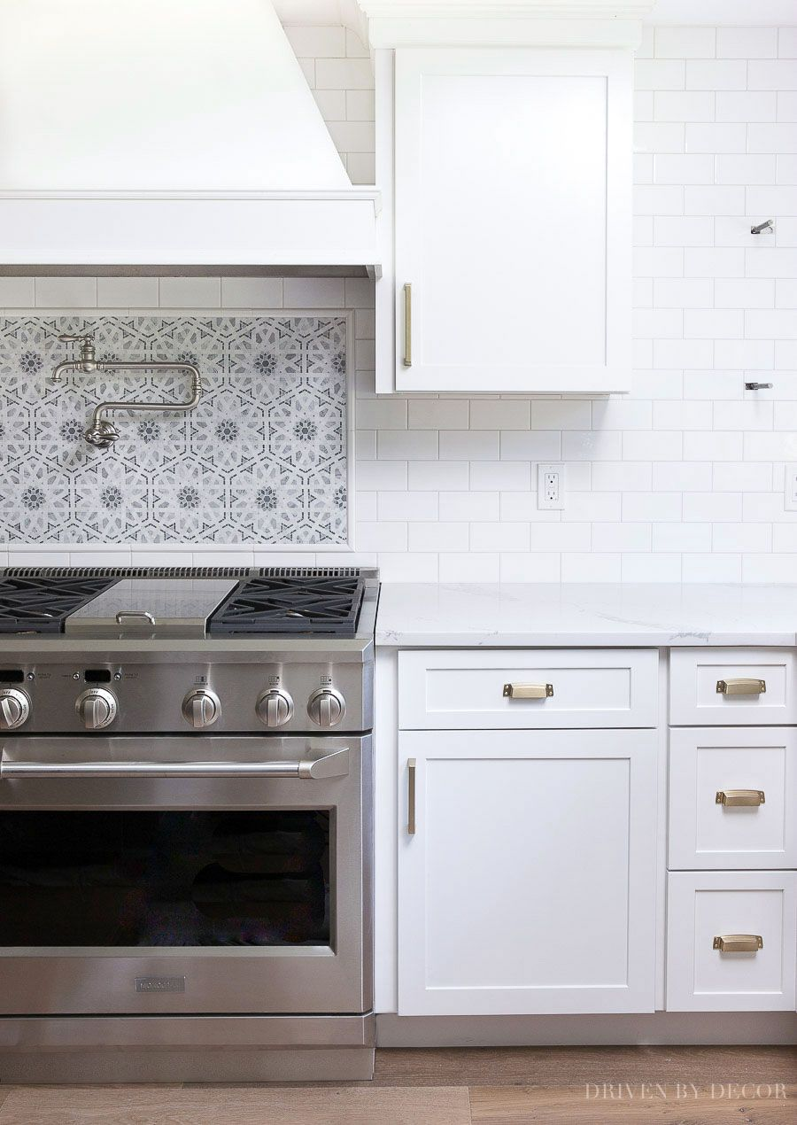 White Subway Tile With Gray Grout My Favorite Grays Driven By Decor Kitchen Backsplash Designs White Subway Tile Kitchen White Subway Tile Backsplash