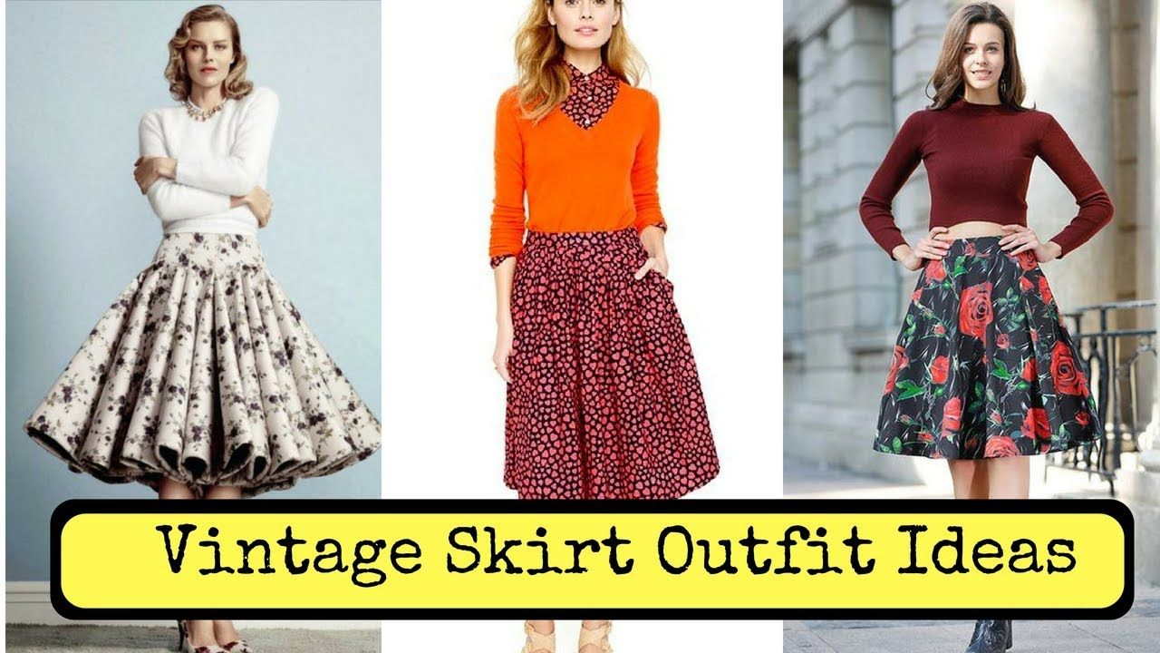 Vintage Skirt Outfit Ideas How To Wear The Vintage Outfit Outfits Skirt Aest In 2020 Vintage Skirt Outfit Vintage Summer Outfits Summer Outfits Women 30s
