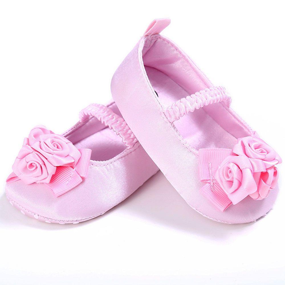 Baby Girl Shoes Newborn Soft Sole Crib Toddler Newborn Shoes Flowers