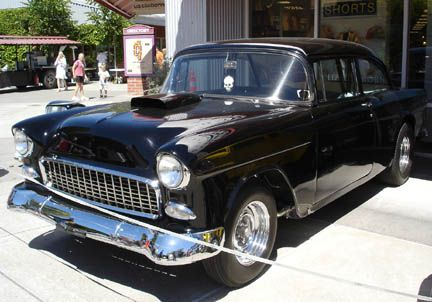 THE '55 CHEVY from American Graffitti   Harrison Ford's car