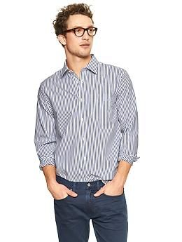 3c62a5416d87 Non-Iron striped shirt - No more ironing or dry cleaning! Specially treated  fabrics