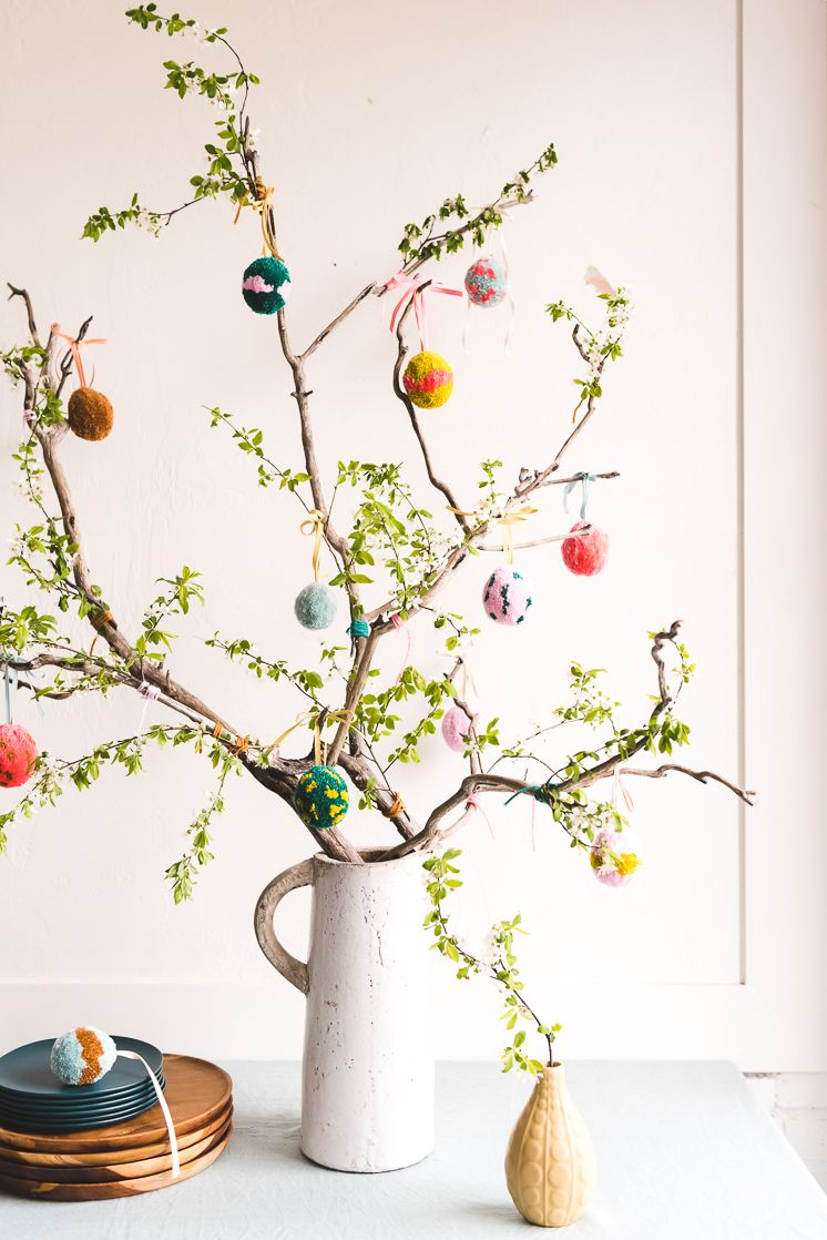 Photo of DIY Pom Pom Easter Egg Tree – The House That Lars Built
