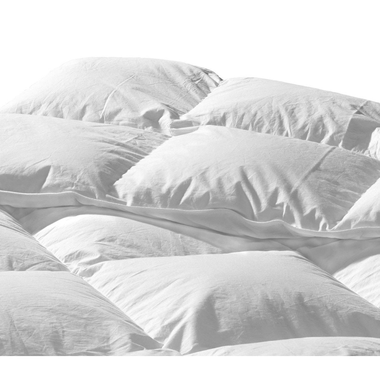 down blanket set feather comforter costco plaid heavyweight goose solid