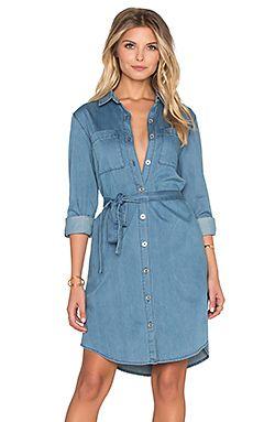 robe chemise in a daze jeans denim pinterest designer dresses robe and designers. Black Bedroom Furniture Sets. Home Design Ideas