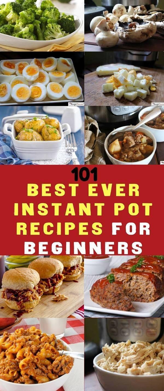 101 Instant Pot Recipes For Beginners Cookbook | Recipe This #instantpotrecipesforbeginners
