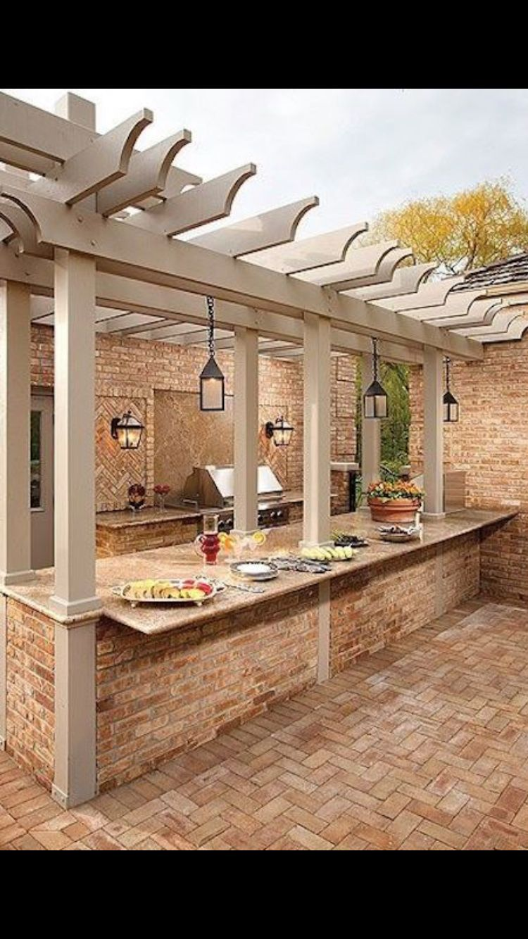 Love This Outdoor Grilling And Entertaining Space With Images Outdoor Kitchen Design Outdoor Kitchen Outdoor Kitchen Bars