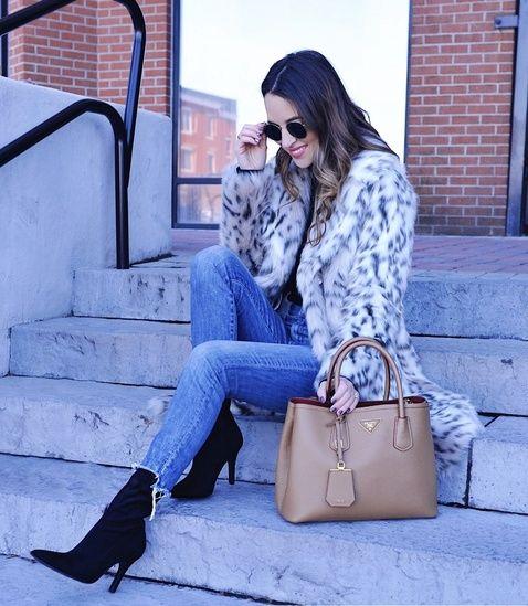 d8392d6a7f Faux Fur Leopard Coat #ShopStyle #ssCollective #MyShopStyle #ootd ...