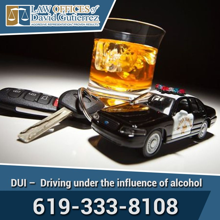 DUI Driving Under The Influence Of Alcohol Law Offices