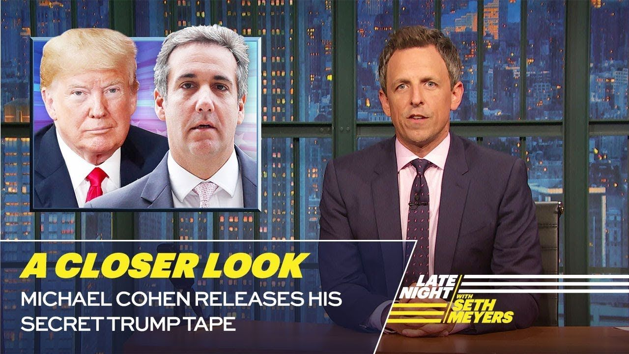 Michael Cohen Releases His Secret Trump Tape A Closer Look How To Memorize Things Phone Interviews Trump Lies