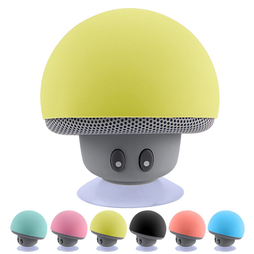 Wireless Bluetooth Speaker Portable Mini Speakers Mushroom Waterproof Bass Stereo Speaker With Mic For Mobile Phone Computer Price Usd 9 12 United S Parlantes