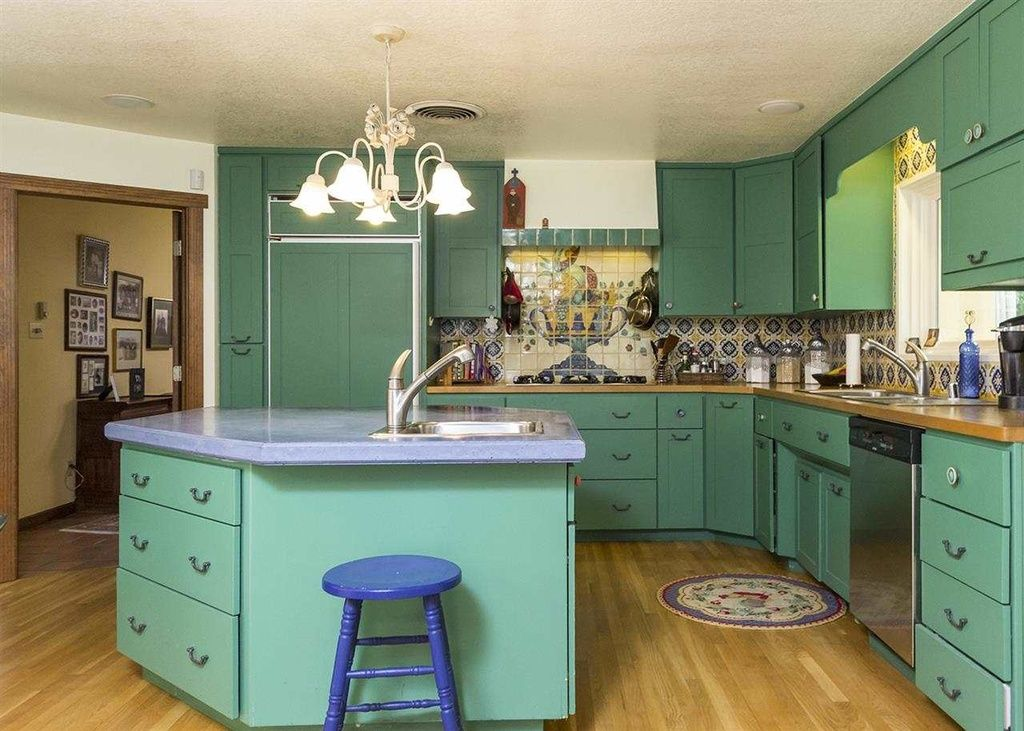 Decorative 4X4 Ceramic Tiles Custom Eclectic Kitchen With Handpainted Tile Murals Decorative Mexican Design Inspiration