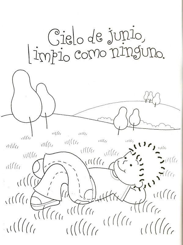Poesías Y Rimas Infantiles De Los Meses Rimas Infantiles Poesía Para Niños Poemas De Preescolar
