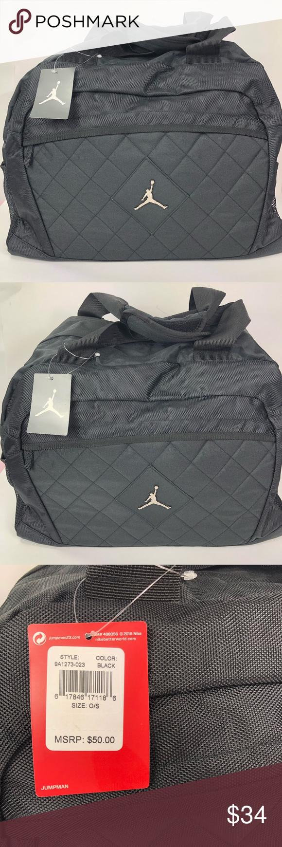 c7db1f70a56861 Michael Jordan Athletic Duffel Gym Bag NWT Brand new condition Tags  attached Original price  50 Adjustable