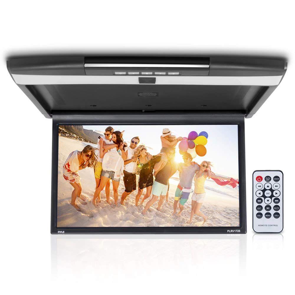 Car Overhead Monitor Screen Display 17.3 inch. LCD