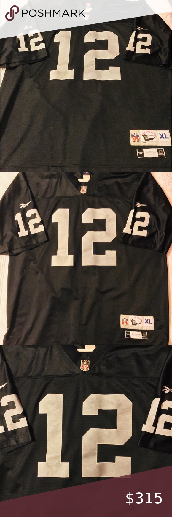 Nfl #12 Ken Stabler raiders jersey Used yet in excellent condition ...