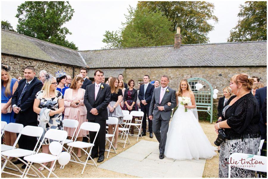 Wedderburn Castle Barns Wedding