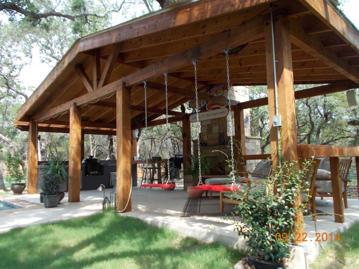 backyard pavilion backyard