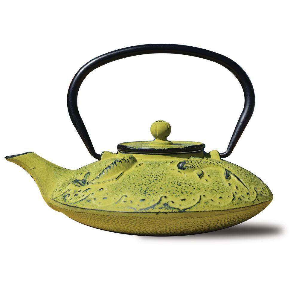Old Dutch Agon Koi 3 12 Cup Teapot In Moss Green 1035mo In 2020 Tea Pots Old Dutch Handmade Teapot