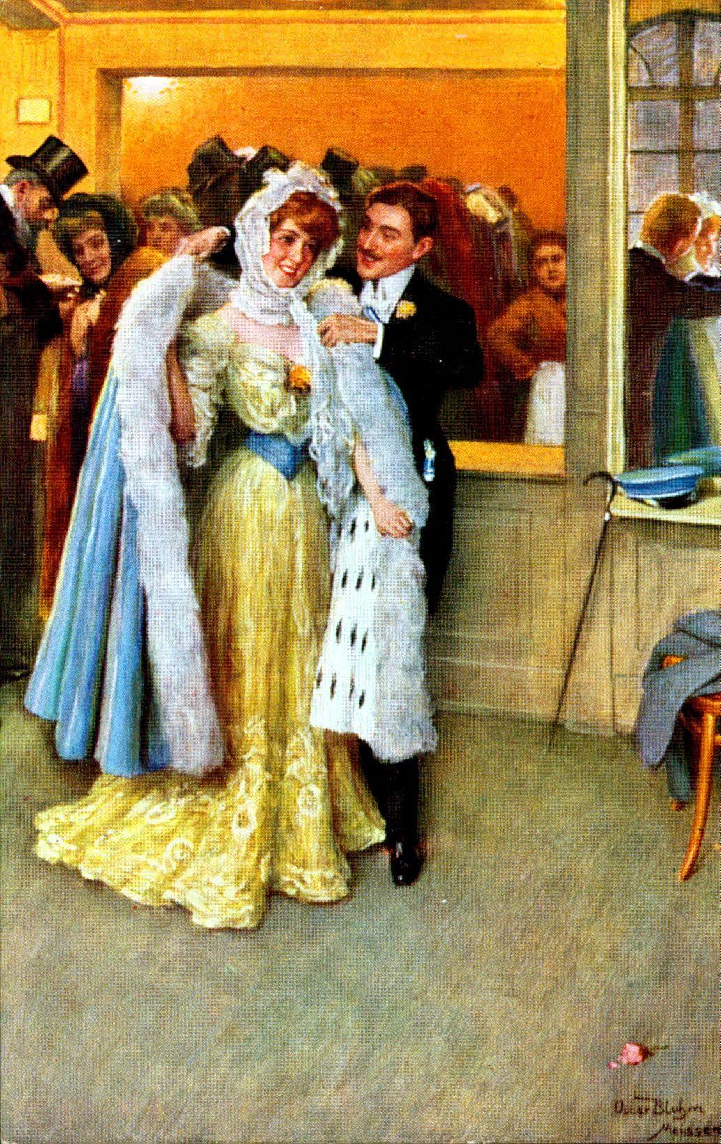 Oscar Arthur Bluhm (German, 1867-1912) - Garderobe